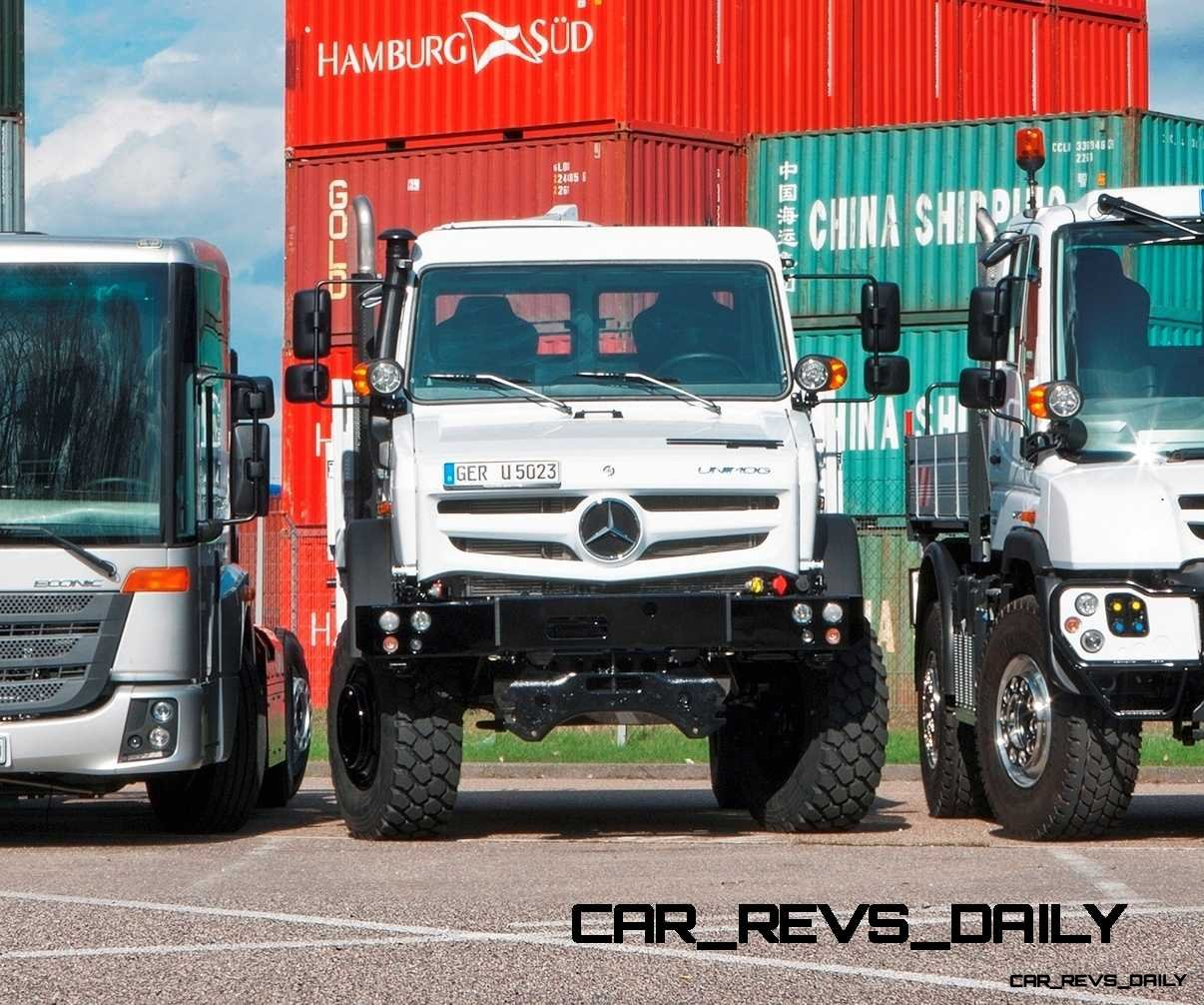 New Unimog U5023 - Review CarRevsDaily