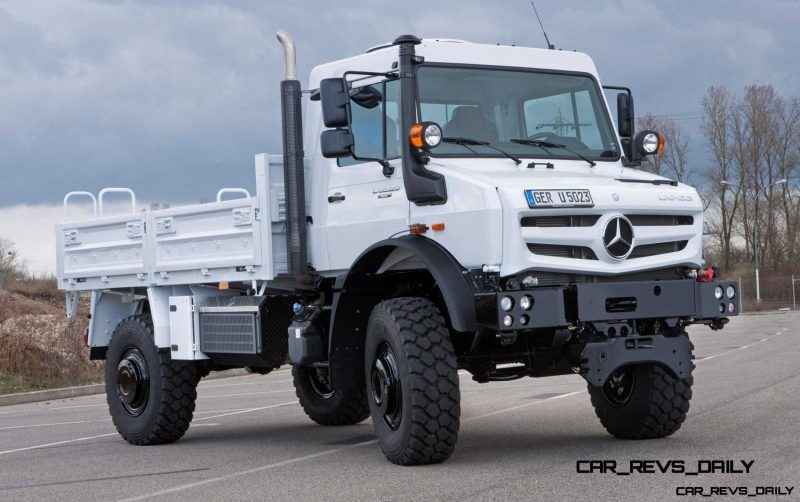 New Unimog U5023 - Review CarRevsDaily.com 54