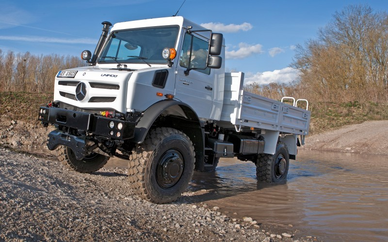 New Unimog U5023 - Review CarRevsDaily.com 58