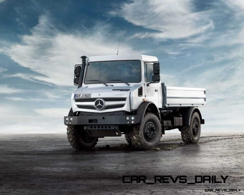 New Unimog U5023 - Review CarRevsDaily.com 74