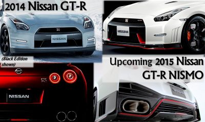 Nissan GT-R - Spotters Guidebook to 2014 Updates and 2015 NISMO Model