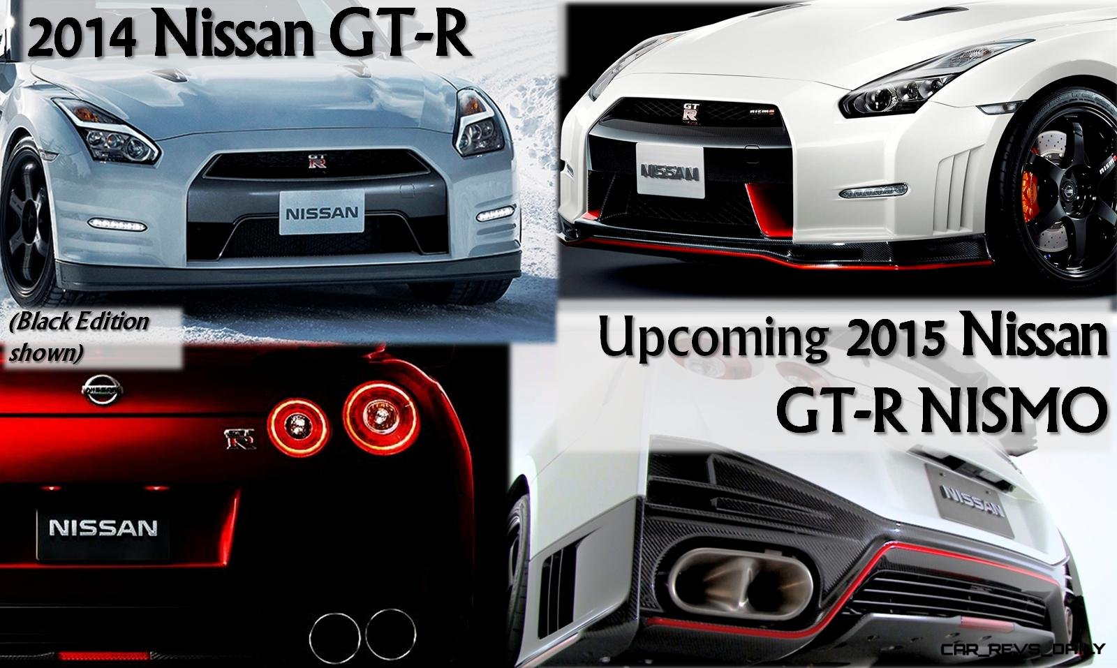 Nissan GT R   Spotters Guidebook To 2014 Updates And 2015 NISMO Model