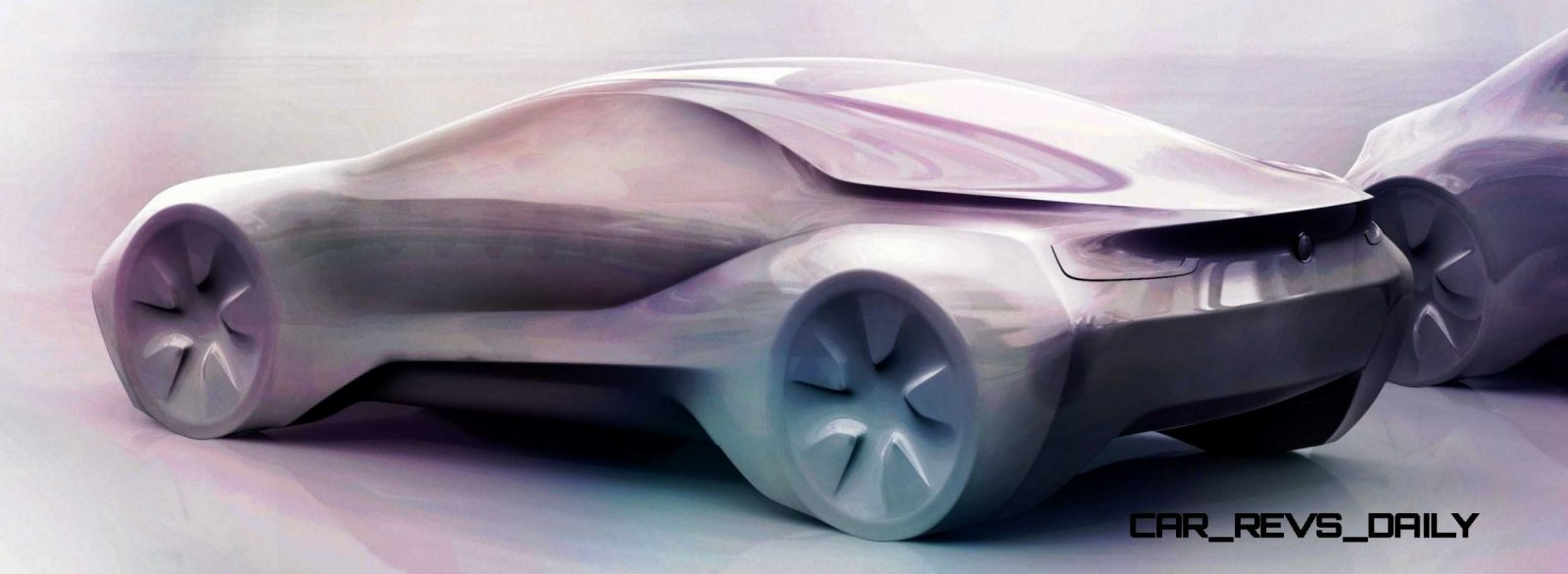 Design sketch BMW BMW i8