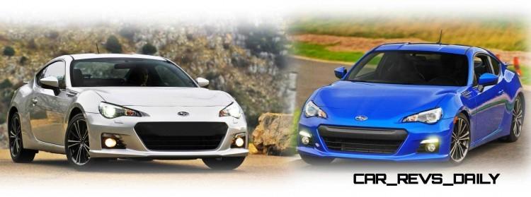 Picture1 Subaru BRZ Colors Showdown - World Rally Blue - Exterior Gallery