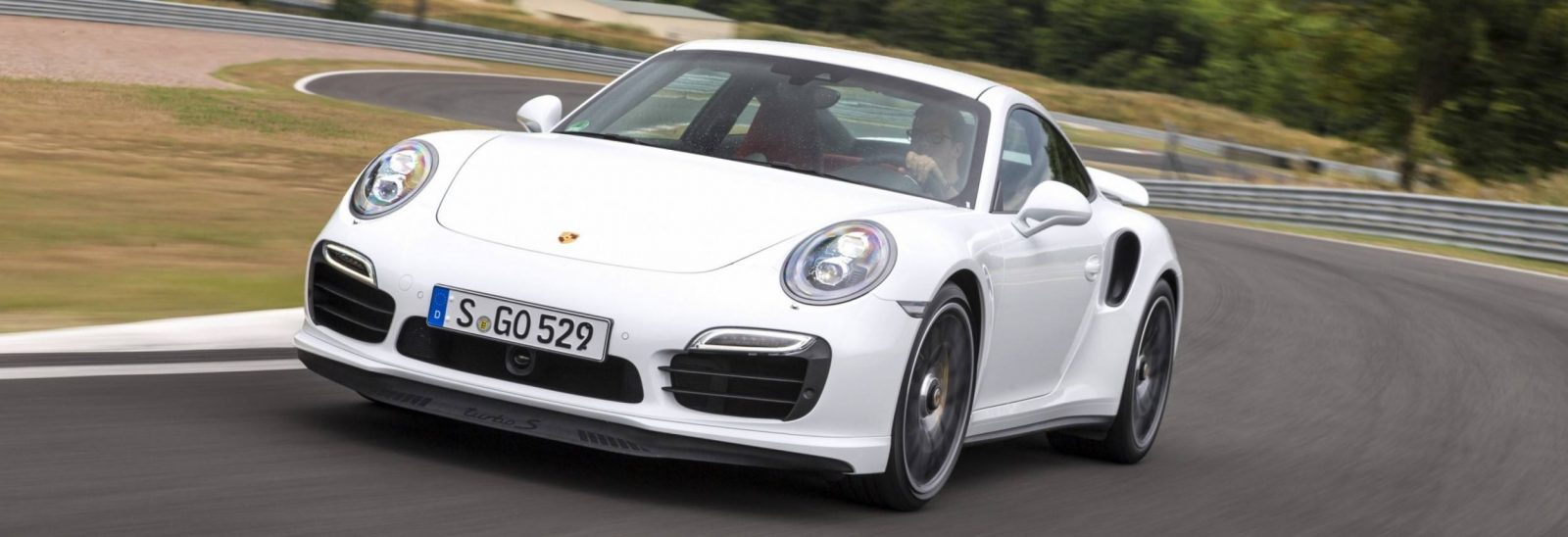 2014 Porsche 911 Turbo S In 34 Poster Size Photos