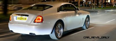 RR Wraith Carrara White Color Showcase CarRevsDaily25