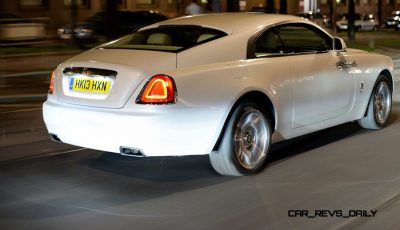 RR Wraith Carrara White Color Showcase CarRevsDaily30