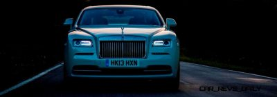 RR Wraith Carrara White Color Showcase CarRevsDaily4