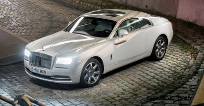 Rolls-Royce Wraith launch, Austria, September 2013