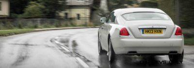 RR Wraith Carrara White Color Showcase CarRevsDaily60