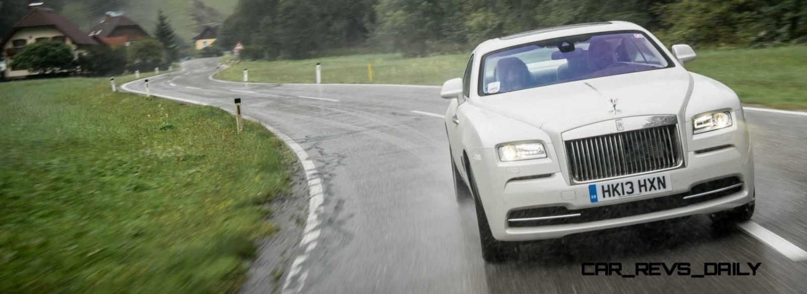 RR Wraith Carrara White Color Showcase CarRevsDaily61
