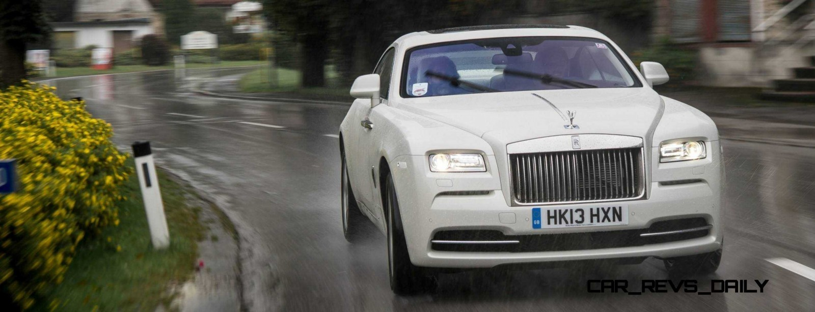 RR Wraith Carrara White Color Showcase CarRevsDaily65
