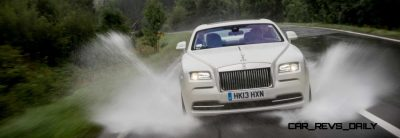 RR Wraith Carrara White Color Showcase CarRevsDaily66