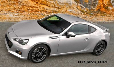 Subaru BRZ Colors Showdown - Light Silver10