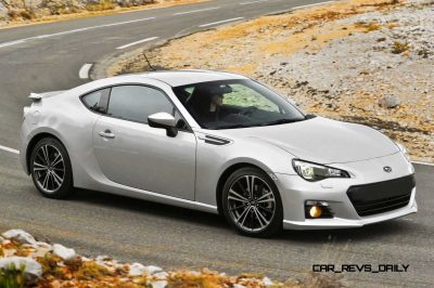 Subaru BRZ Colors Showdown - Light Silver11
