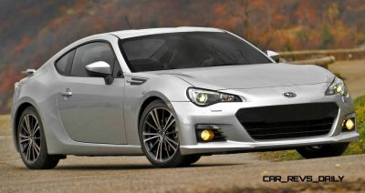 Subaru BRZ Colors Showdown - Light Silver4