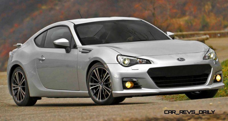 Subaru BRZ Colors Showdown - Light Silver4