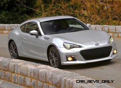 Subaru BRZ Colors Showdown - Light Silver5