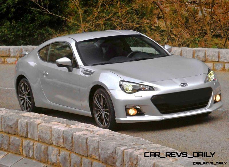 Subaru BRZ Colors Showdown - Light Silver5