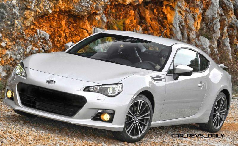Subaru BRZ Colors Showdown - Light Silver9