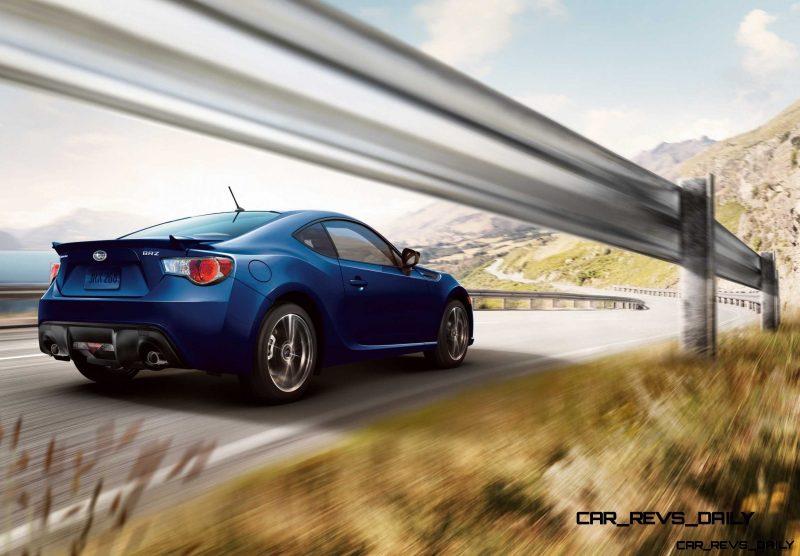 Subaru BRZ Colors Showdown - World Rally Blue2