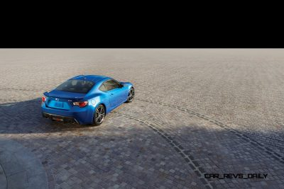 Subaru BRZ Colors Showdown - World Rally Blue7