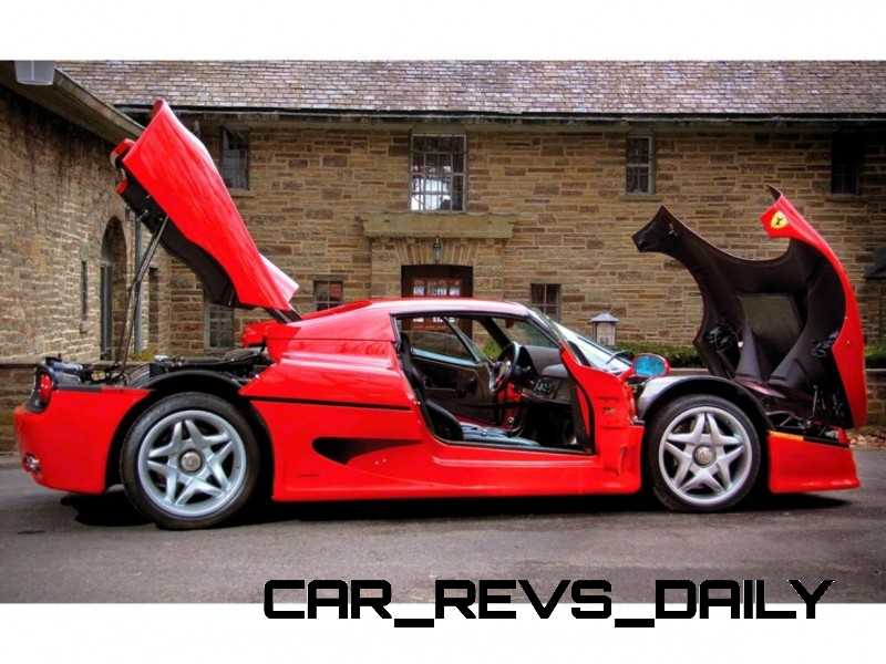 Supercar Showcase - Ferrari F50 from RM Auctions20