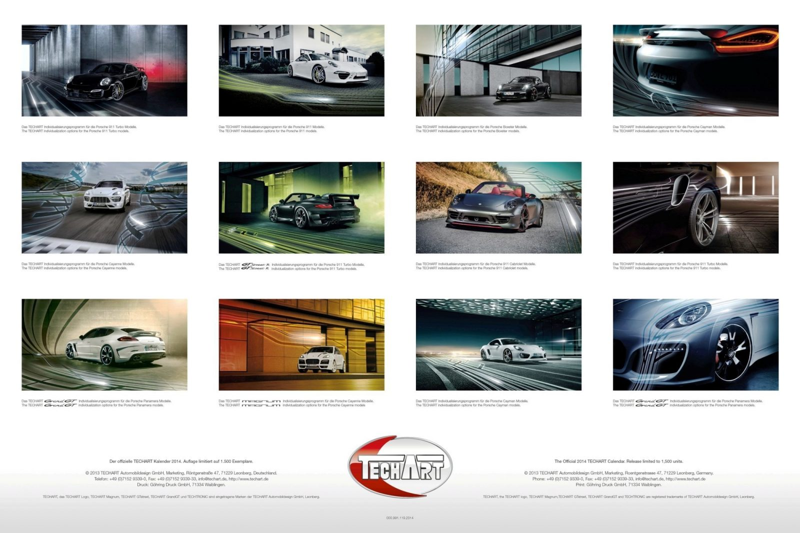 TECHART_Calendar_2014_overview