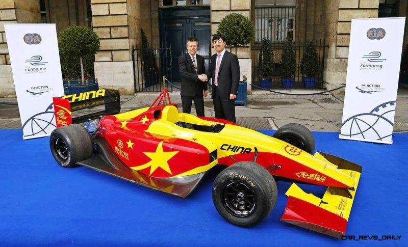 Formula E - Team China Racing