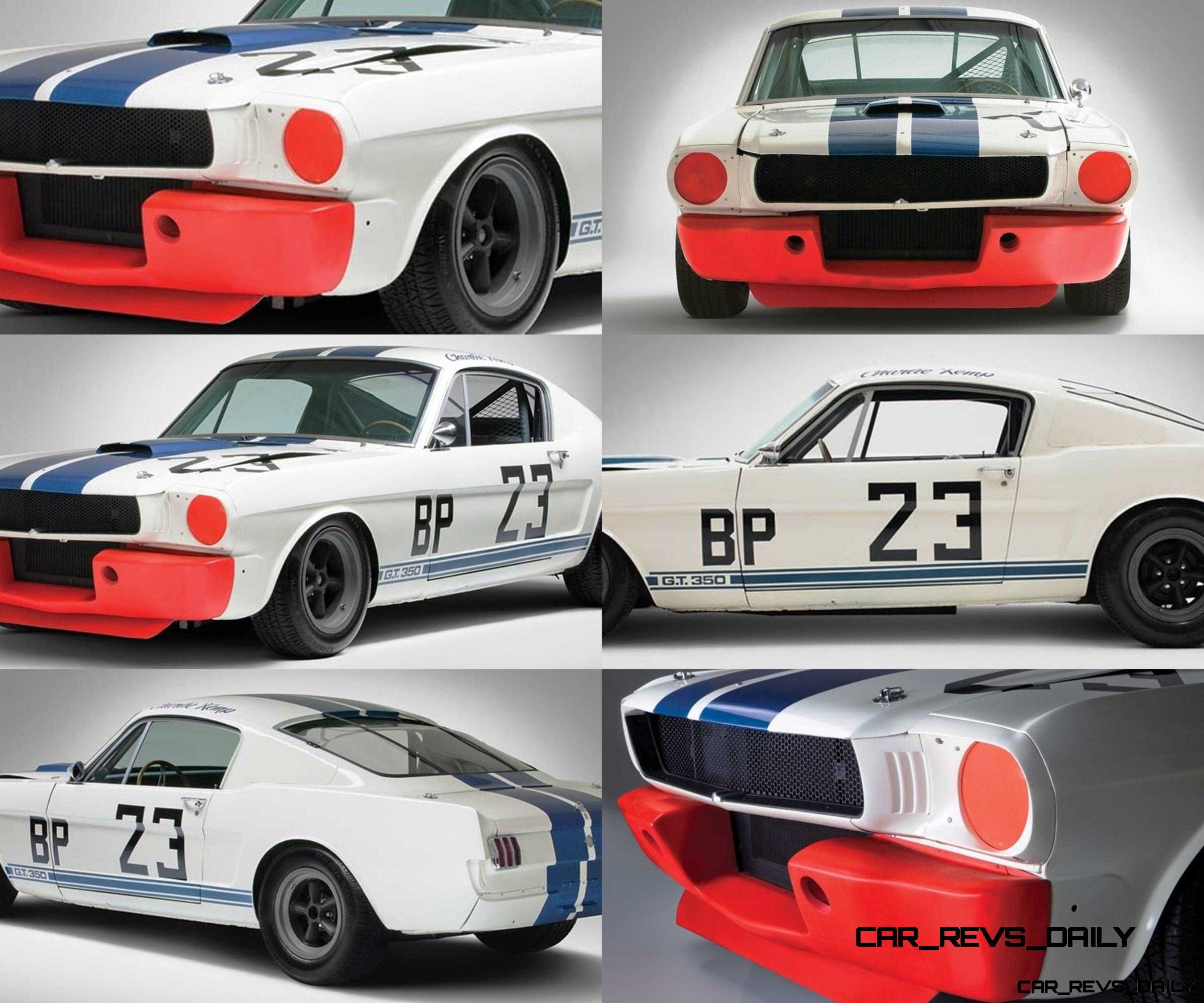 1965 Shelby Mustang GT350R RM Amelia2014 29 photo