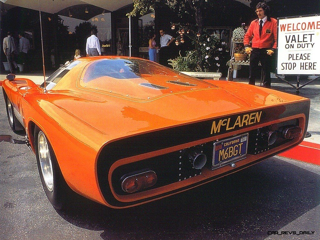 1969 McLaren M6GT - Specs vs F1 and P1 - Photo 65