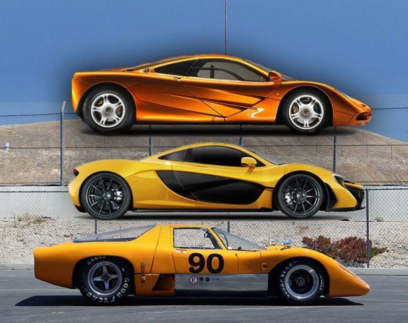 1969 McLaren M6GT - Specs vs F1 and P1 - Photo 67