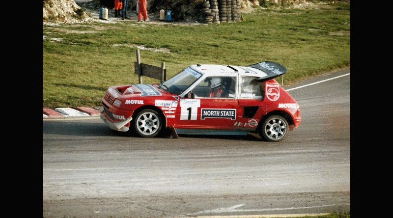 1985 Peugeot 205 T16 Rally Images Animated GIF