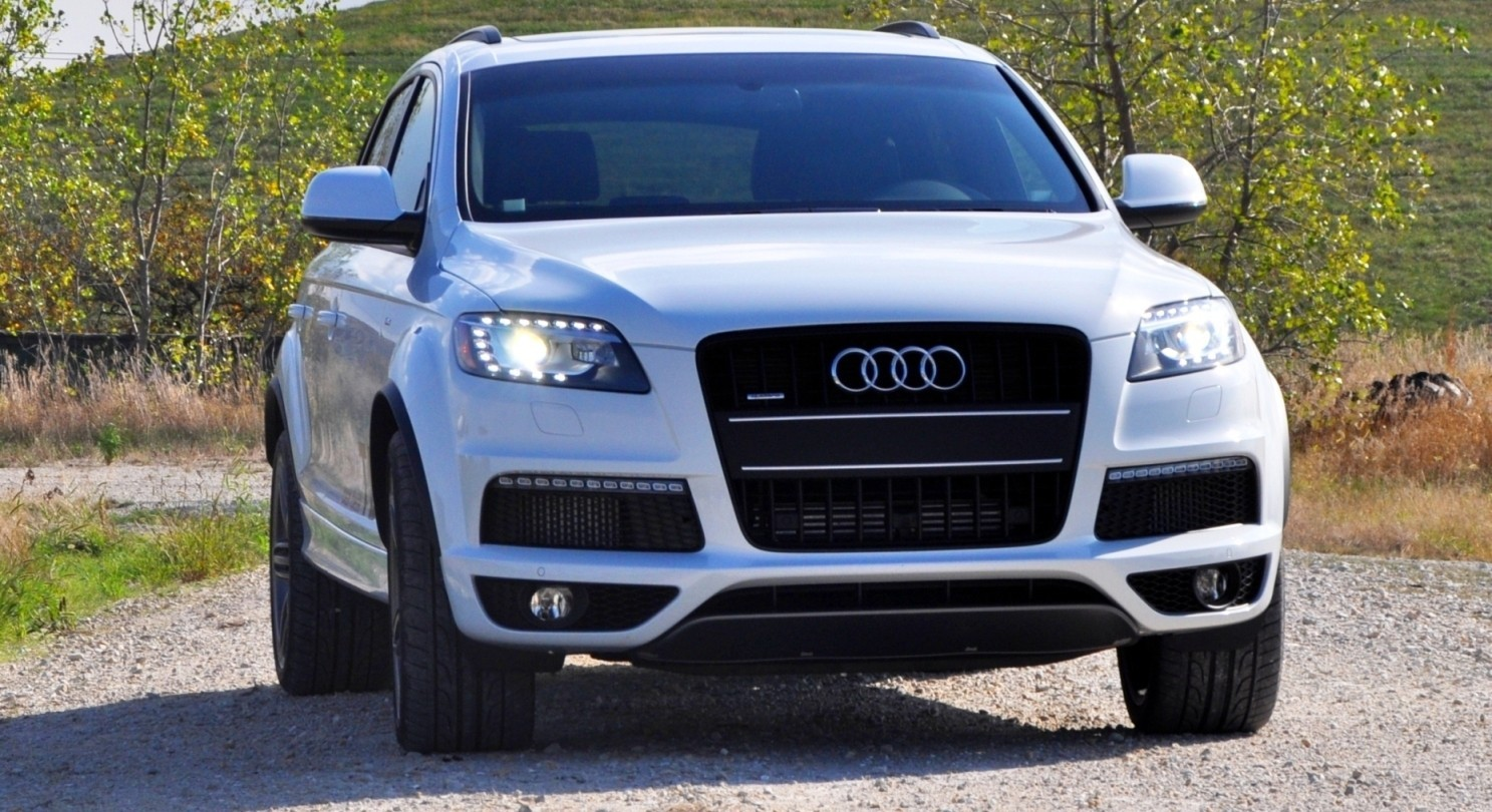 2014 Audi Q7 TDI S-line Plus - Carrara White 10