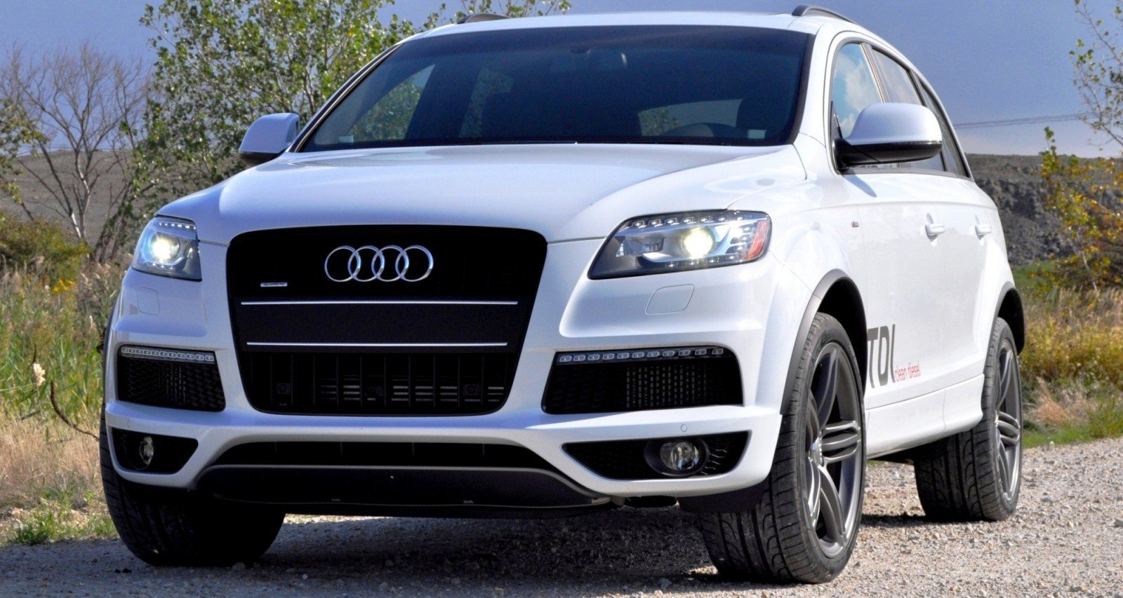 2014 Audi Q7 TDI S-line Plus - Carrara White 13