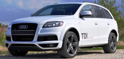 2014 Audi Q7 TDI S-line Plus - Carrara White 14