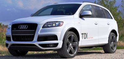 2014 Audi Q7 TDI S-line Plus - Carrara White 14