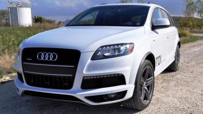 2014 Audi Q7 TDI S-line Plus - Carrara White 18