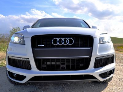 2014 Audi Q7 TDI S-line Plus - Carrara White 19