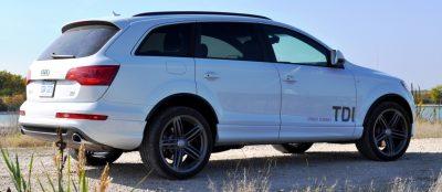 2014 Audi Q7 TDI S-line Plus - Carrara White 2