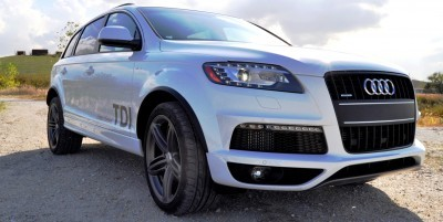 2014 Audi Q7 TDI S-line Plus - Carrara White 21
