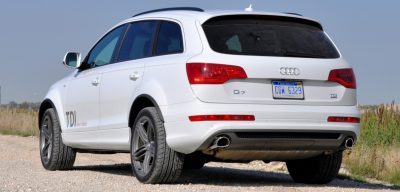2014 Audi Q7 TDI S-line Plus - Carrara White 24