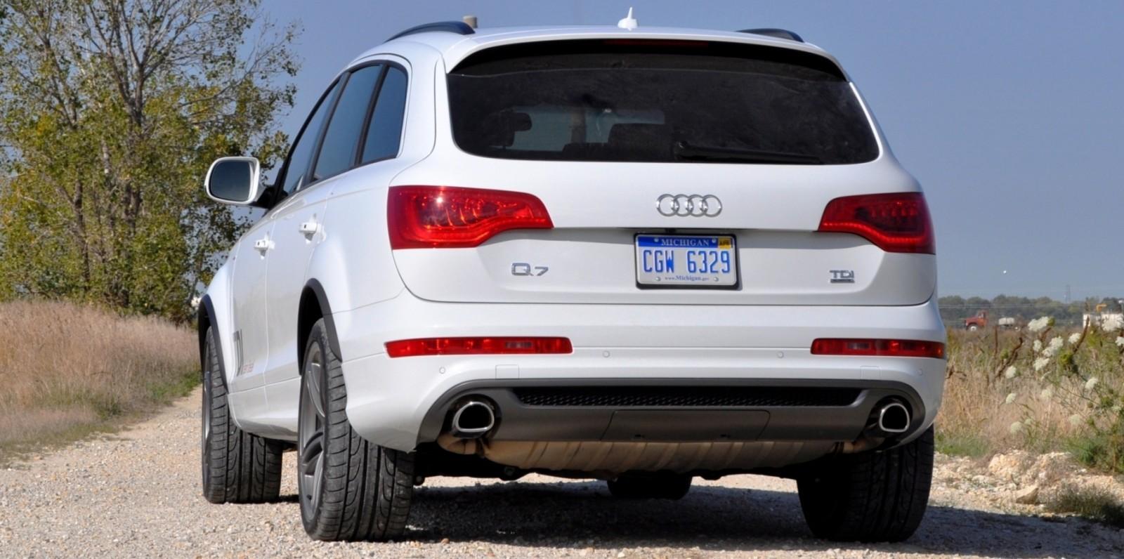 2014 Audi Q7 TDI S-line Plus - Carrara White 25