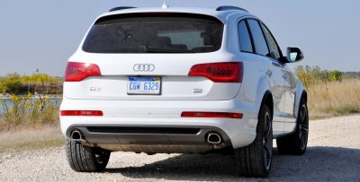 2014 Audi Q7 TDI S-line Plus - Carrara White 27