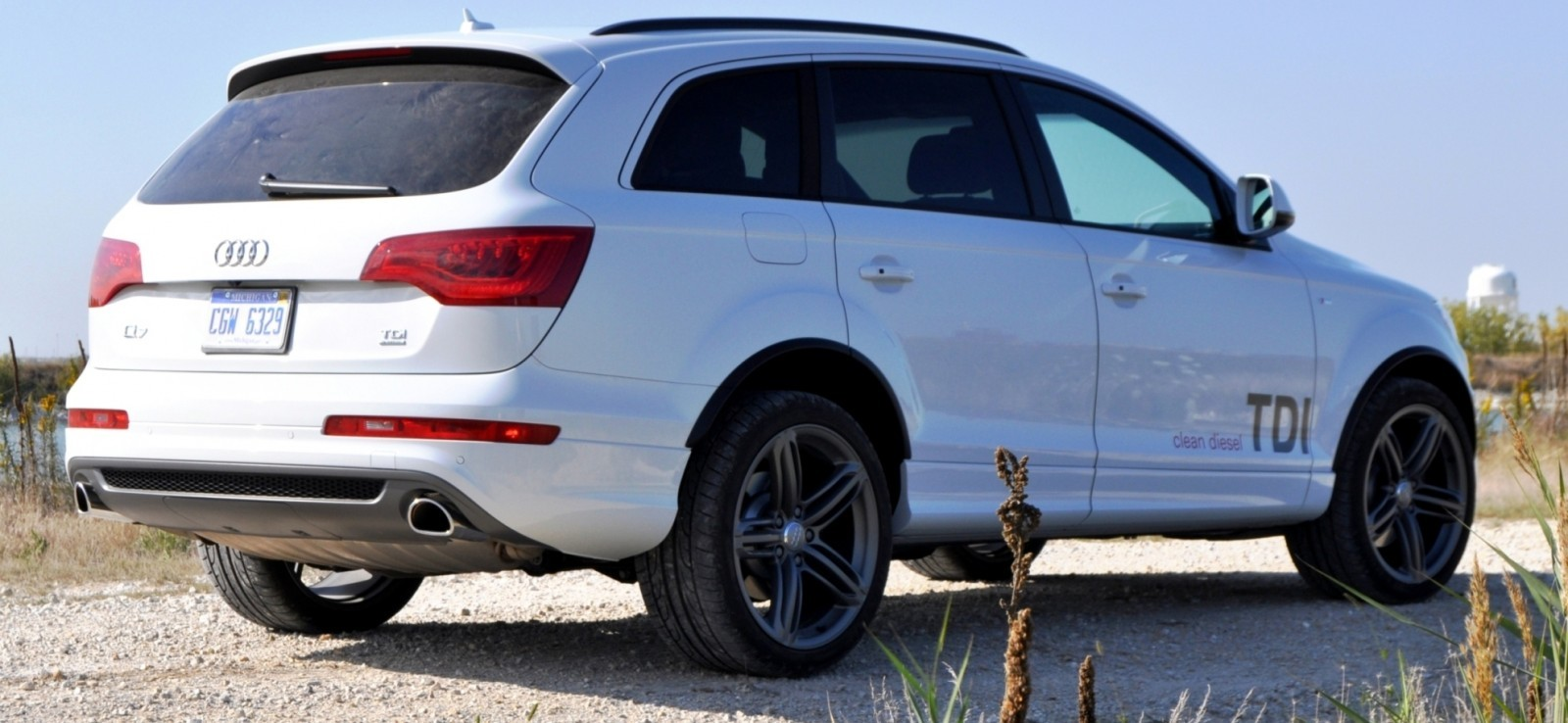 2014 Audi Q7 TDI S-line Plus - Carrara White 29