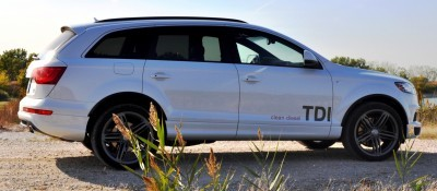 2014 Audi Q7 TDI S-line Plus - Carrara White 3