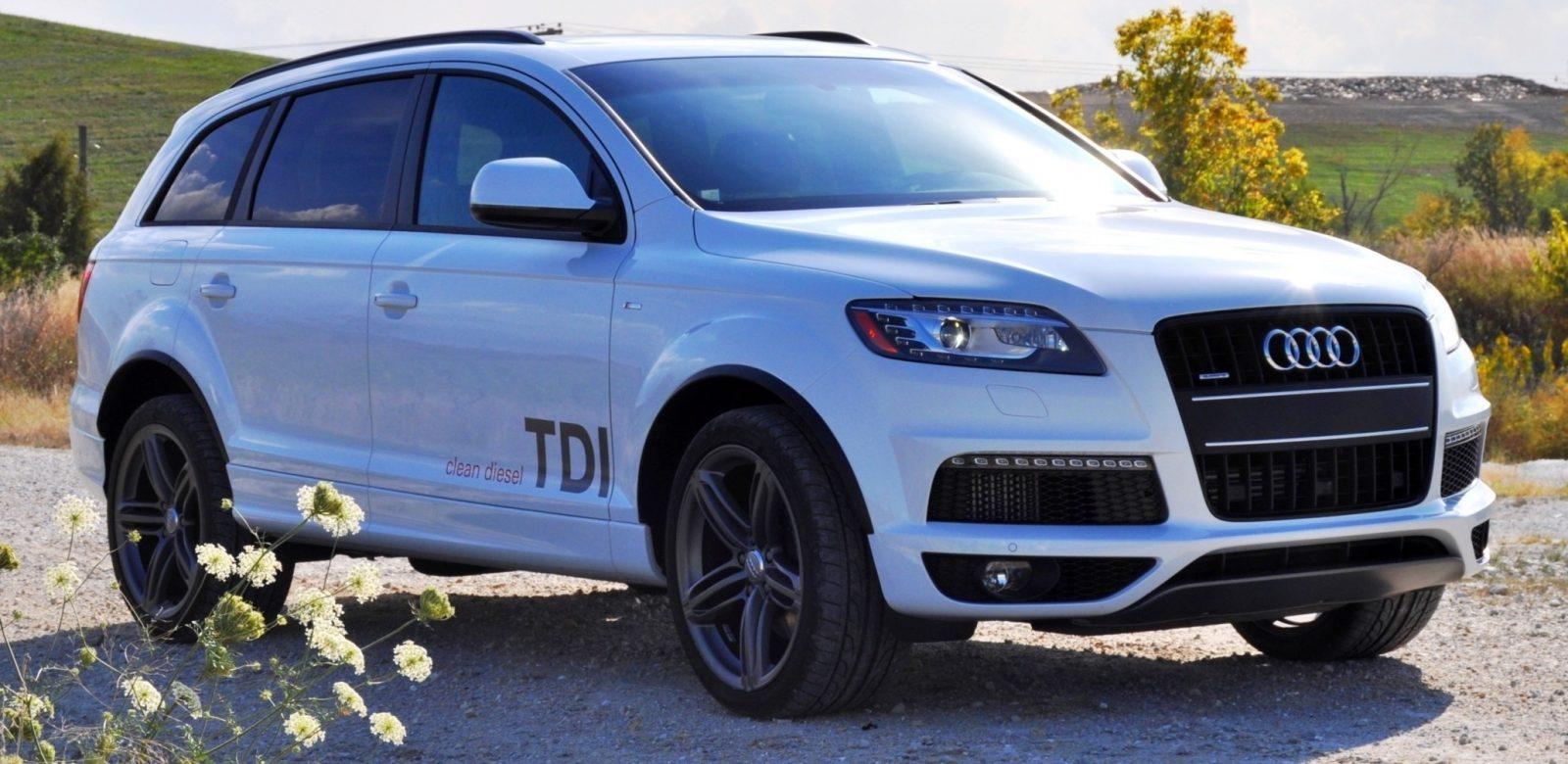 2014 Audi Q7 TDI S-line Plus - Carrara White 8