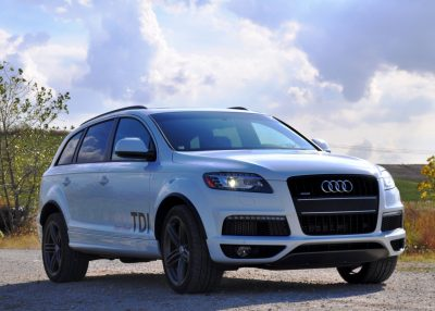 2014 Audi Q7 TDI S-line Plus - Carrara White 9