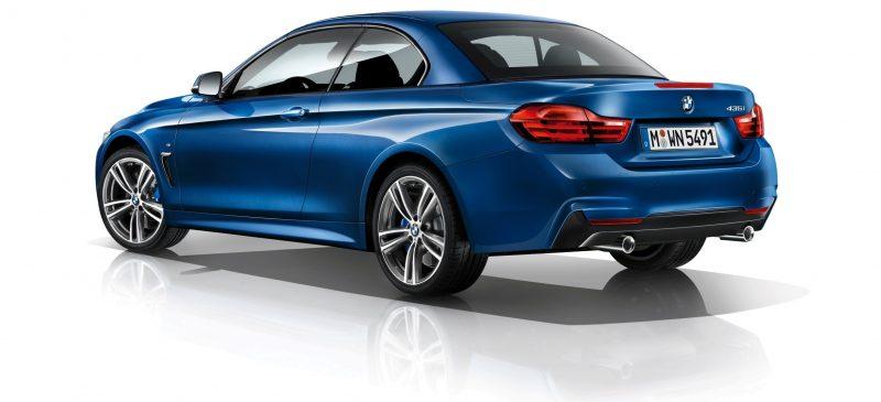 2014 BMW 428i and 435i Make Beautiful, Practical Convertibles 11