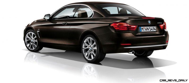 2014 BMW 428i and 435i Make Beautiful, Practical Convertibles 15